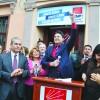 Ensar Aytekin'den miting gibi adaylık açıklaması