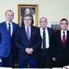 Bandırma MYO'dan Başkan Dursun Mirza'ya ziyaret