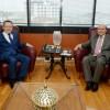 Büyükşehir Belediye Başkanı Uğur'a ziyaretler sürüyor