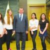 Başkan Yılmaz 19 Mayıs'ta gençleri ağırladı