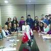 Toplum Gönüllüsü öğrencilerle rehberlik projesi için buluştu