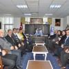 Edremit CHP'den Başkan Saka'ya nezaket ziyareti