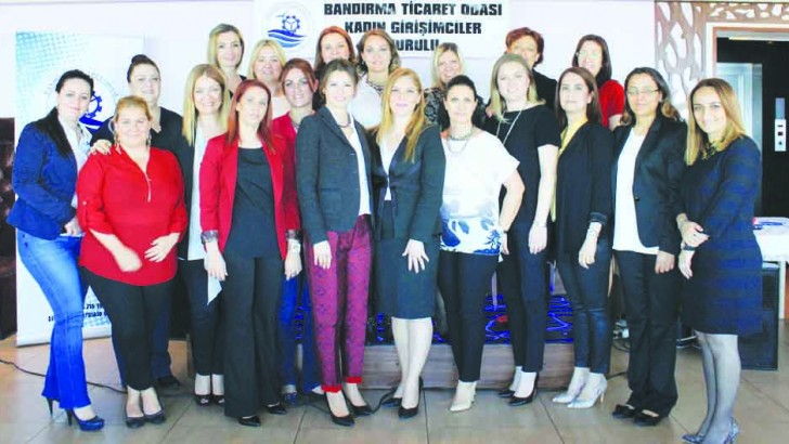 Bandırma Ticaret Odası Kadın Girişimciler Kurulu, girişimci kadınlara yön veriyor