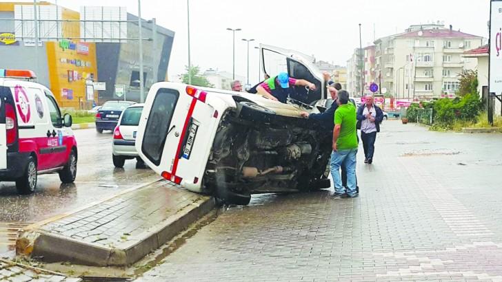 Bandırma'da Korozman Kavşağı'na tepki