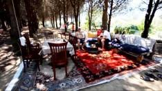 Yemeklerin sobada pişirildiği tatil köyüne ilgi