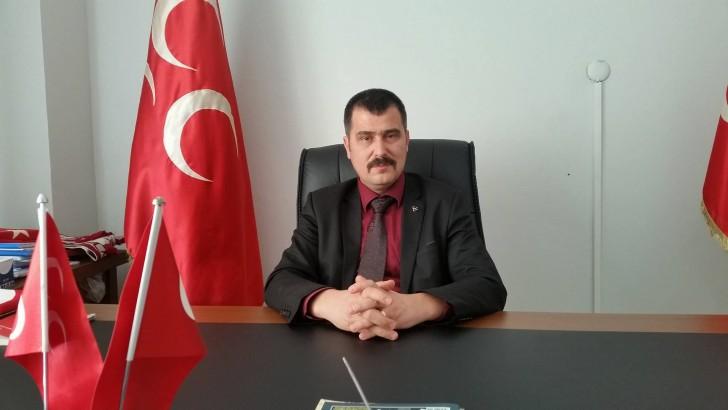 MHP İlçe Teşkilatı Başkanı'na ziyaret
