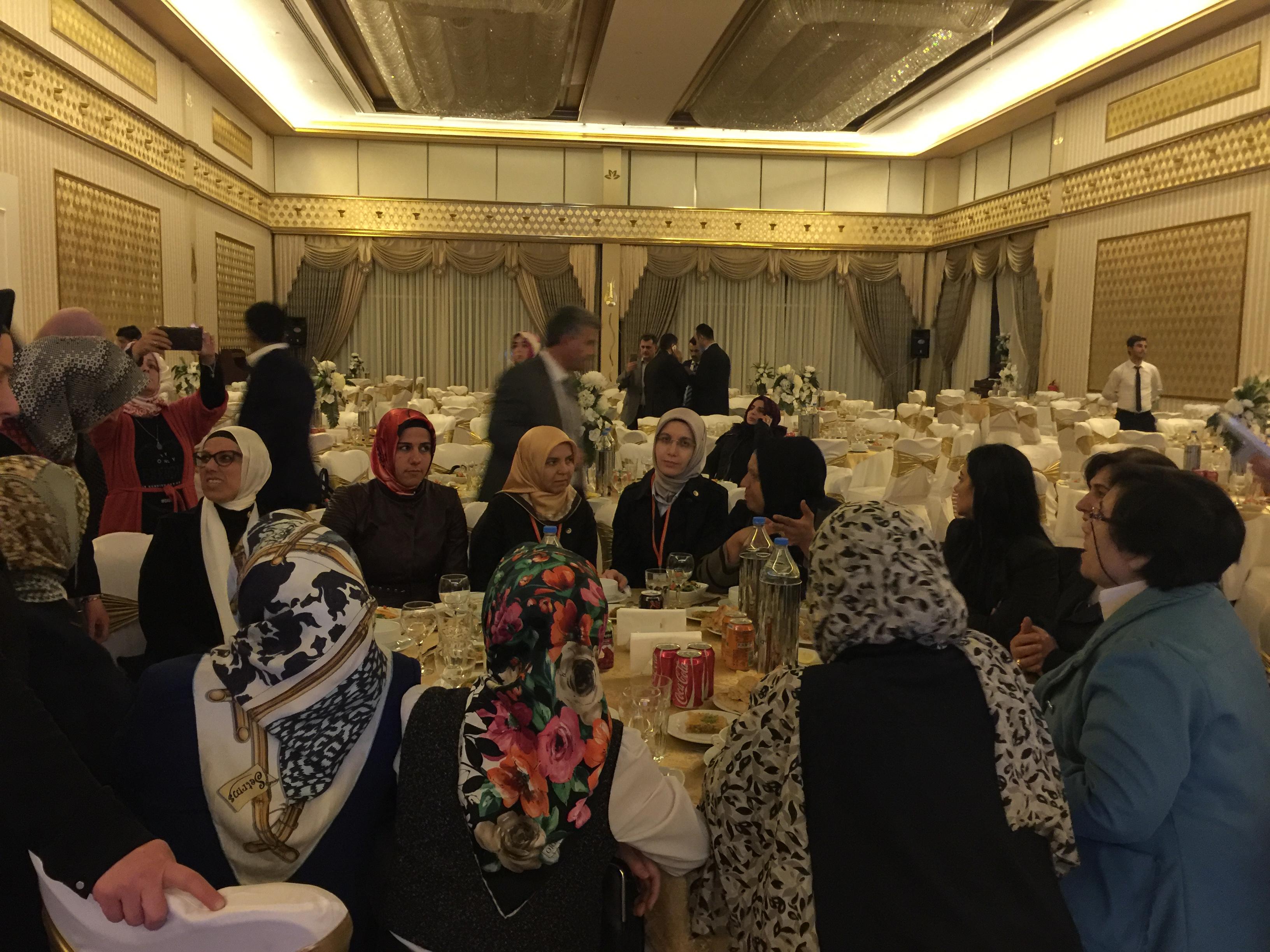 Sema Kırcı-Diyarbakır teşkilat yemeği