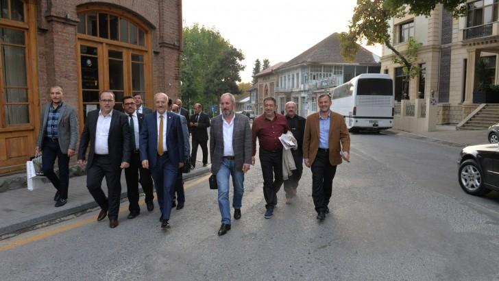 ALTIEYLÜL AZERBAYCAN'IN ŞEKİ ŞEHRİ İLE KARDEŞ OLUYOR