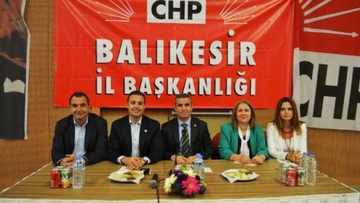 CHP İlçe Başkanları Ayvalık'ta Buluştu
