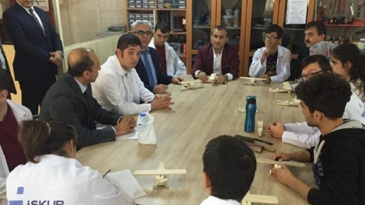 Bandırma'da Mesleki Eğitim Projesi Başladı