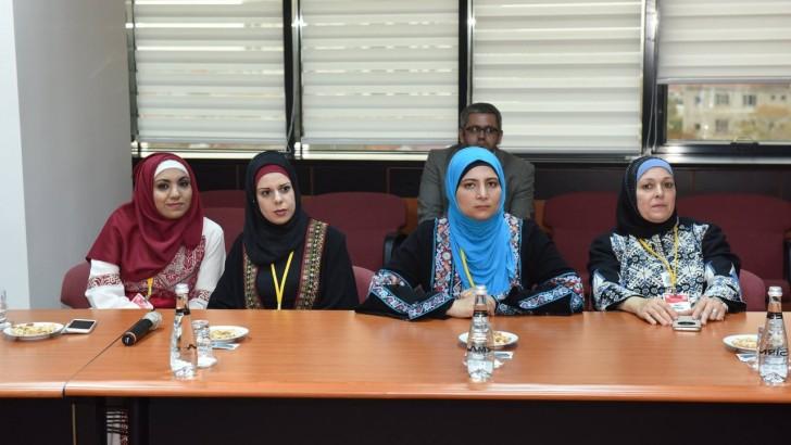 Filistin'li Öğrencilerden Başkan Uğur'a Ziyaret