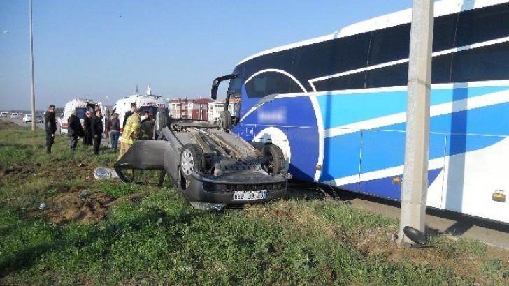 6. Ana Jet Üssü Kavşağında Kaza