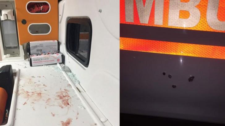 Ambulansta Kurşun Yağdırdı