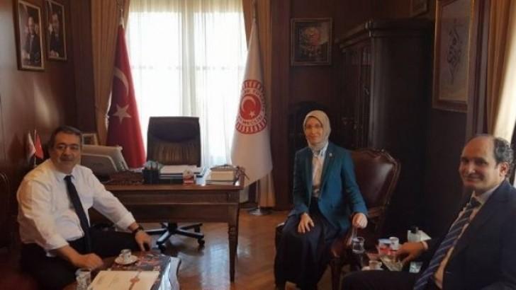 Demiraslan, Aydınlıoğlu ve Kırcı'yı Ziyaret Etti