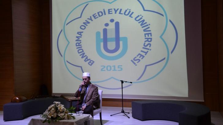 17 Eylül Üniversitesi Kandil Programı Düzenledi