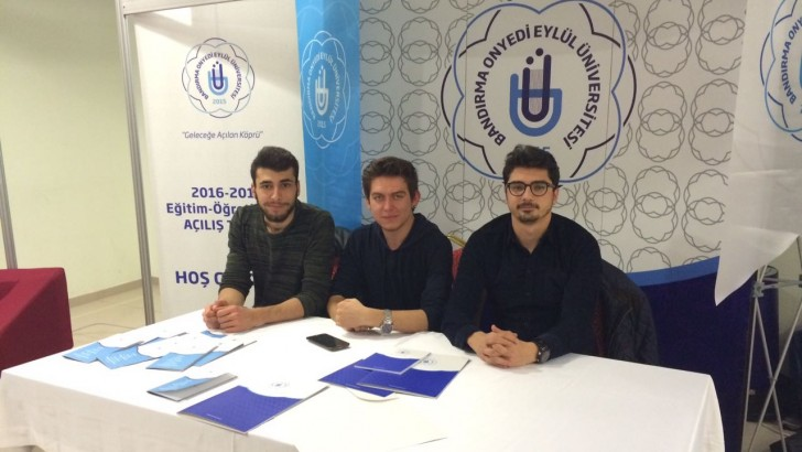 Balıkesir'de Onyedi Eylül Üniversitesi Standı Açıldı