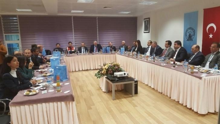 Şube Başkanları Toplantısı Yapıldı