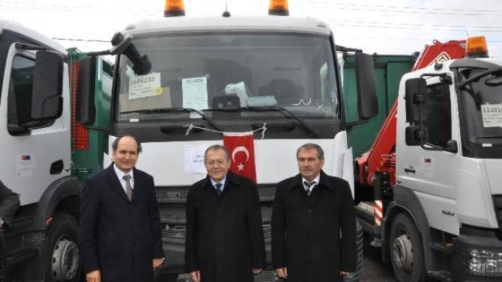 Büyükşehir'de Yeni Ulaşım Araçları Hizmete Alındı