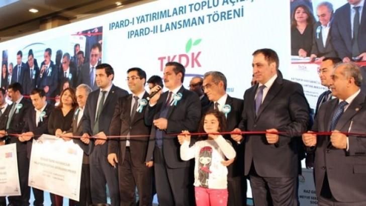 Bakan Çelik, Ipard Yatırımları  Toplu Açılış Törenine Katıldı