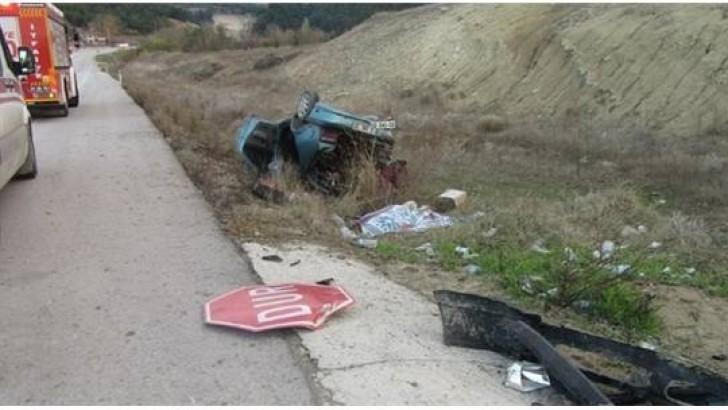 Bigadiç'te Kaza: 1 Ölü