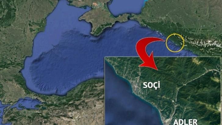 Rus Uçağı Karadenize Çakıldı