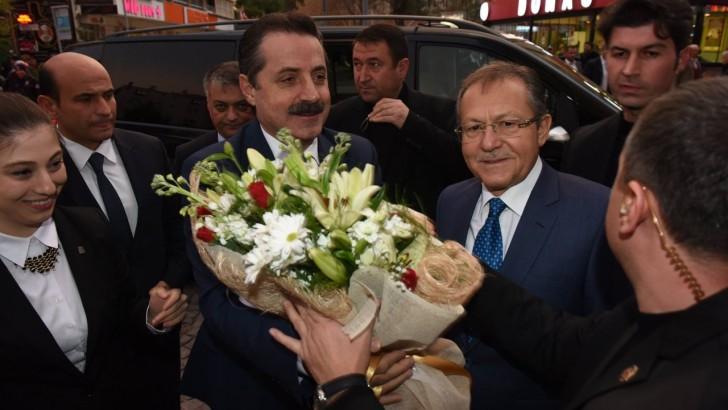 Bakan Çelik'ten Büyükşehir'e Ziyaret