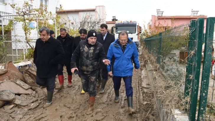 Büyükşehir Belediyesi Afet Zedeleri Yalnız Bırakmadı