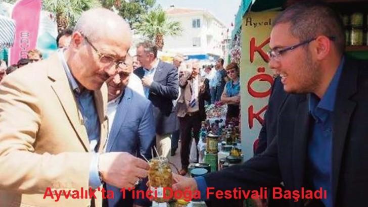 Ayvalık'ta 1'inci Doğa Festivali Başladı