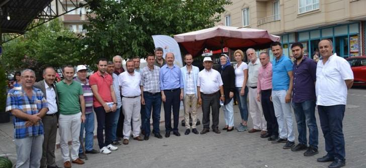 """AK PARTİ HİZMET PARTİSİDİR"""