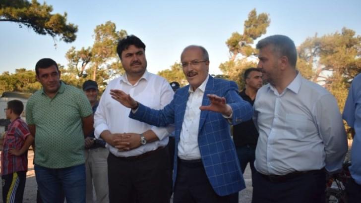 Başkan Kafaoğlu'ndan Kocaseyit Mahallesi'ne Yol Sözü