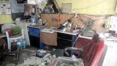 Berber Dükkanında Tavan Kaplaması Çöktü: 3 Yaralı