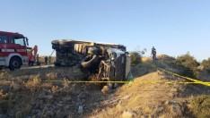 Motor Arızası Olan Tır Kaza Yaptı: 1 Ölü