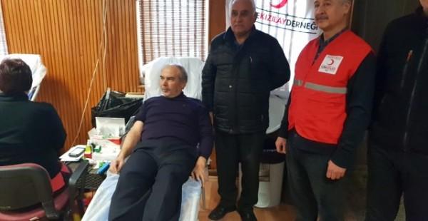 Dursunbey'de Kök Hücre Bağışı Kampanyasına İlgi