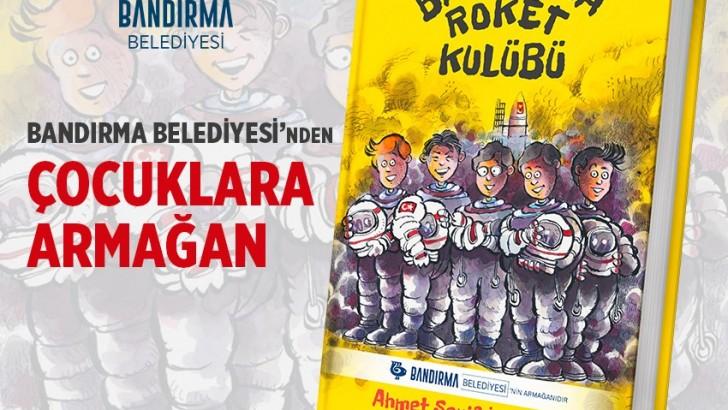 """""""BANDIRMA ROKET KULÜBÜ"""" ÖĞRENCİLERLE BULUŞUYOR"""