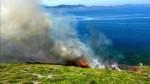 Livatya da çıkan yangın şehri dumana boğdu!