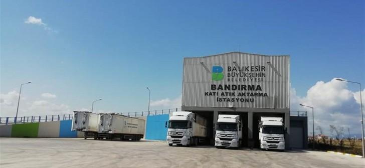 Büyükşehir, bayramda11 bin ton evsel atık taşıdı