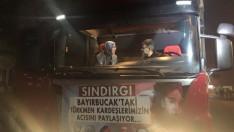 Kırcı Türkmenlere Yardım Törenine Katıldı