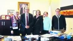 Bandırma Ortaokulu Aile Birliğinden ziyaret