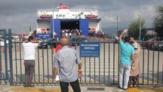 İdo Bandırma Terminalinde Tatilcilerin Dönüş Çilesi