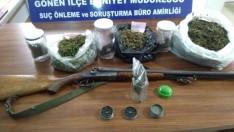 Gönen'de Uyuşturucu Operasyonu