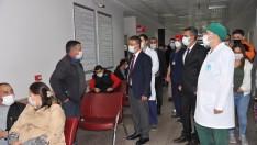 Rektör Prof. Dr. İlter KUŞ'tan, Üniversite Hastanesine Ziyaret