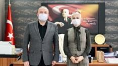Başkan Berrin Yetkin Var'dan Rektör Özdemir'e Ziyaret