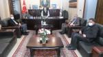 Başkan Barçın'dan Başkan Tosun'a Ziyaret