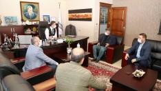 Başkan Tosun'a  Ziyarette Bulundular