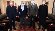 Şubaşı ve Doğan'dan Başkan Tosun'a Ziyaret