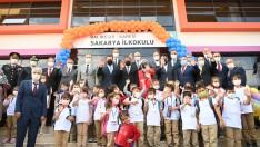 Sakarya İlkokulu'nun açılışı gerçekleştirildi